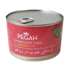 Easy open Tuna Fish in Oil (400 gr) - Pegah