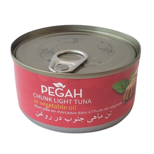 Easy open Chunk Light Tuna Fish in Oil (170 gr) - Pegah