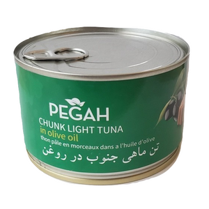 Easy open Chunk Light Tuna Fish in Olive Oil (400 gr) - Pegah