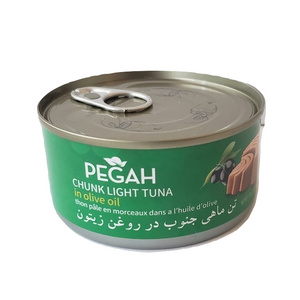 Easy open Chunk Light Tuna Fish in Olive Oil (170 gr) - Pegah
