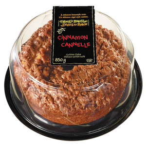 Coffee Cake, Cinnamon (850 g) - FARMER'S MARKET