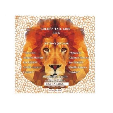 Basmati Rice 10lb - Goldentail Lion