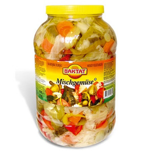 Mix Vegetable Pickled 3Kg - Baktat