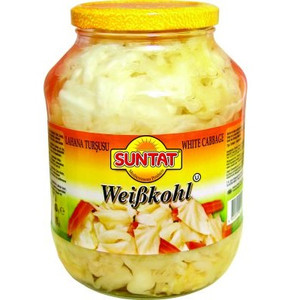 White Cabbage Pickled 3L - Baktat