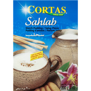 Salep Pudding Mix (Sahlab) 200g - Cortas