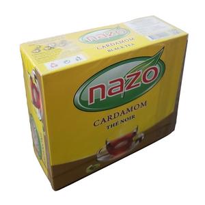 Black Tea with Cardamom 100 Tea Bags - Nazo