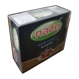 Black Tea with Earl Grey 100 Tea Bags - Nazo