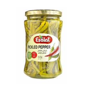 Hot Pickled Pepper 620gr - Esalat