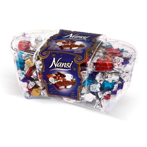 Assorted Chocolates (Caramel, Coffee, Hazelnut, Coconut, Milk) 600gr - Nansi