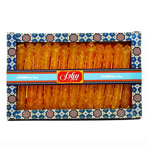 Saffron Rock Candy Sticks 400gr (Nabat) - Piradel