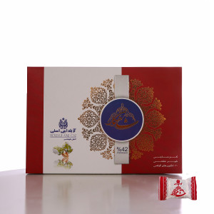 Pistachio Nougat Candy (Gaz Shir-kheshti %42 Pistachios) (Angabini) - Shahkar