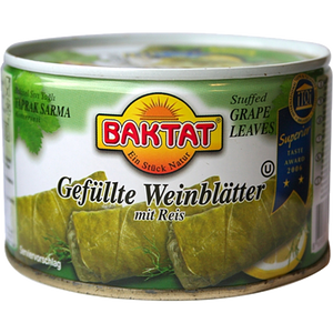 Stuffed Vine Leaves (Grape Leaves) 400g - Baktat