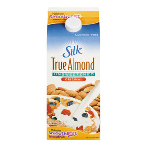 True Almond, Unsweetened Original 1.89 L - Silk