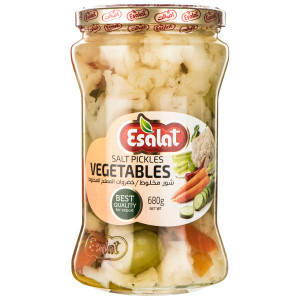 Mix Vegetables in Brine (Salted Mix Vegetables) 680 g - Esalat
