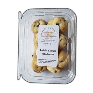 Raisin Cookie 200gr (Homemade Style) - Nutty Saffron