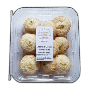 Coconut Cookies 400gr (Homemade Style) - Nutty Saffron