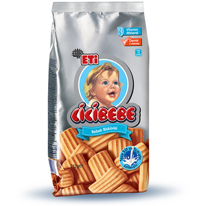 Baby Biscuit (CICI Beby) - Source of Vitamins and Minerals 212 gr - Eti