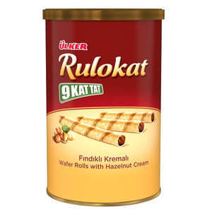Wafer Rolls With Hzzelnut Cream 170gr - Ulker
