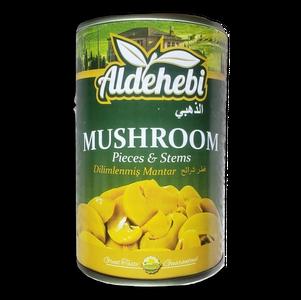 Easy Open Sliced Mushrooms 400gr - Aldehebi