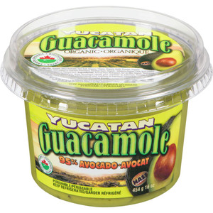 Organic Guacamole 454 g - YUCATAN