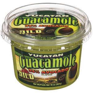 Spicy Guacamole 454 g - YUCATAN