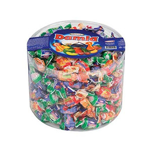 Assorted Soft Fruit Chewy Candy 1000gr - Tayas