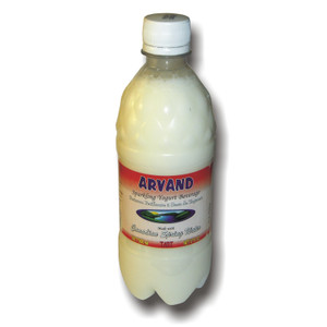 Ghashghaei  (Tart) Yogurt Soda 4 Pack - 500 ml - Arvand
