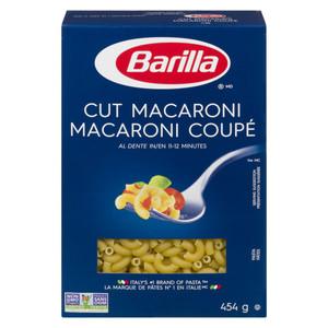 Cut Macaroni (ELBOWS PASTA) 454g - Barilla