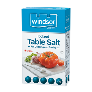 Iodized Table Salt 1kg - Windsor