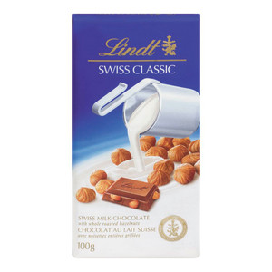Milk Chocolate with Roasted Hazelnuts 100 g - LINDT