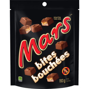 Bites Stand up Pouch 193 g - Mars