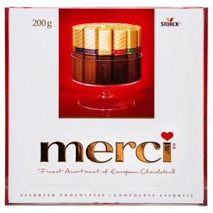 Assorted Chocolates 200 g - Merci