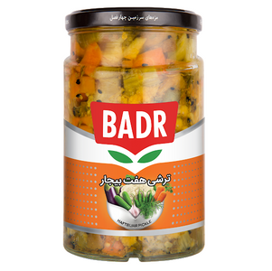 Mix Pickled Vegetables (Haft-e-Bijar) 700gr - Badr