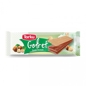 Hazelnut Wafer Torku 142gr - Torku