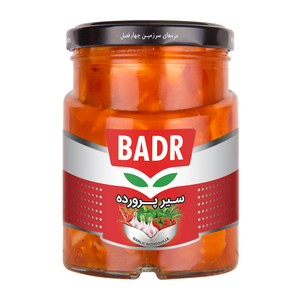 Garlic Ratatouille (Sir Parvardeh) 700gr - Badr