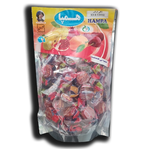 Sour Toffee Fruit Bar (Stand Up Pouches) 400gr - Hampa