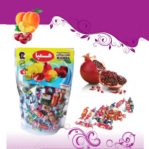 Two Head Mix Fruit Bar (Stand Up Pouches) 400gr - Hampa