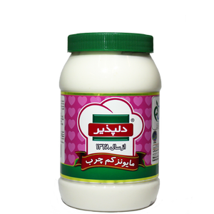 Low Fat Real Mayonnaise (450gr) - Delpazir