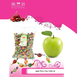 Bulk Sour Toffee Fruit Bar 1kg - Hampa