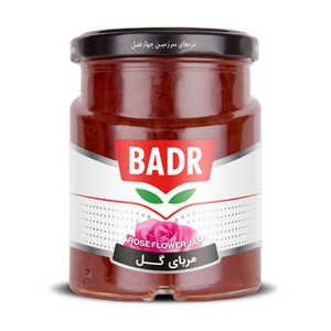 Rose Flower Jam 300g - Badr