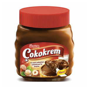 "Ulker Cokokrem Hazelnut Spread with chocolate ""Cikolatali Findik Ezmesi"" - 650g - GLASS"