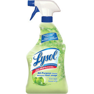 All Purpose Cleaner, Trigger, Green Apple, Powerful Cleaning & Freshening 650 mL - LYSOL