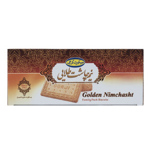Golden Nimchasht Family Pack Biscuits 720gr - Gorji