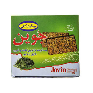 Barley Flour Biscuit Decorated with Sesame & Dill 920gr - Gorji