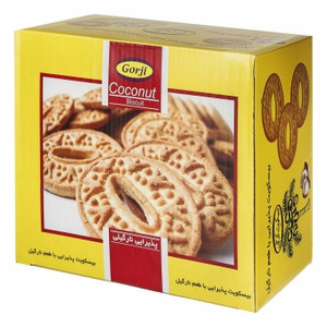 Celebration Biscuit with Coconut Flavor 900gr - Gorji