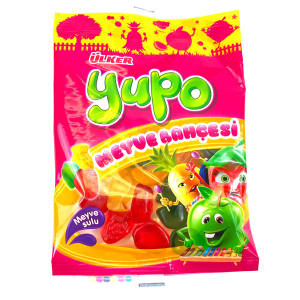 Yupo Gummy Garden Fruits 80gr - Ulker