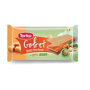 Caramel Wafer Torku 142gr - Torku