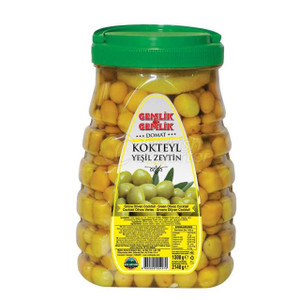 Turkish Green Olives 2050gr - Gemlik & Gemlik