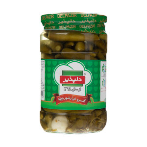 Pickled Cucumber (Midget) 650gr - Delpazir