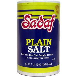 Plain Salt 737 gr - Sadaf